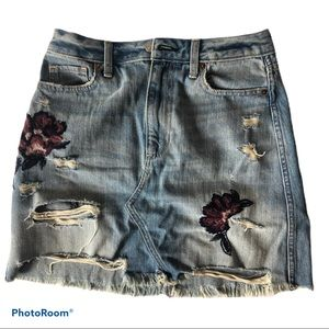 3/60 deal 💥 Abercrombie Jean skirt